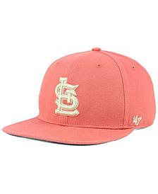 '47 Brand St. Louis Cardinals Island Snapback Cap