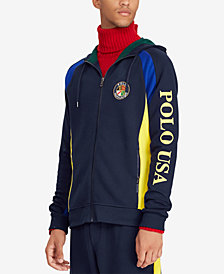 Polo Ralph Lauren Men's Downhill Skier Double-Knit Hoodie