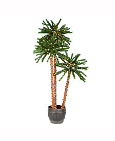 Vickerman 4-5-6' Potted Outdoor Palm Trees