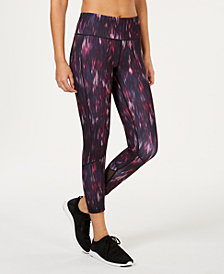 Ideology Printed Cropped Leggings, Created for Macy's