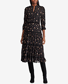 Polo Ralph Lauren Floral-Print Maxidress