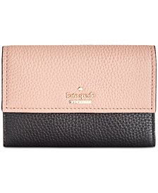 kate spade new york Jackson Street Meredith Pebble Leather Wallet