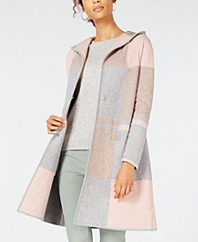 Charter Club Petite Colorblocked Sweater Coat, Created for Macy's