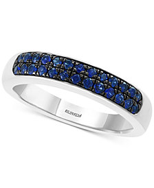 EFFY® Sapphire Band (1/2 ct. t.w.) in Sterling Silver