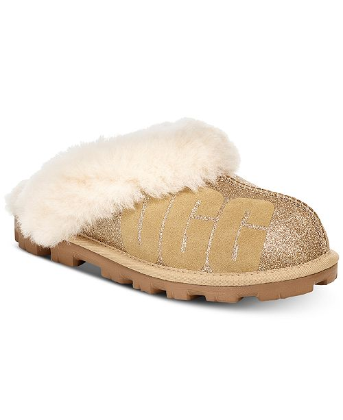 UGG® Women s Coquette Sparkle Slippers   Reviews - Slippers - Shoes ... 6bec4d9bf