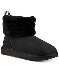 9c188790b23 Ugg Black Sequin Boots - Macy's