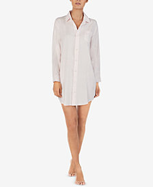 Lauren Ralph Lauren Button-Front Sleepshirt