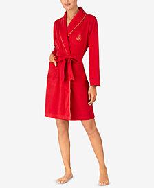 Lauren Ralph Lauren Belted Short Robe
