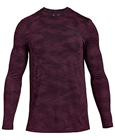 Under Armour Men's Threadborne Seamless Camo Long-Sleeve T-Shirt