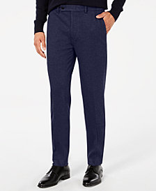 Calvin Klein Men's X-Fit Skinny Comfort Stretch Knit Dress Pants