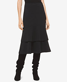 MICHAEL Michael Kors Tiered Skirt