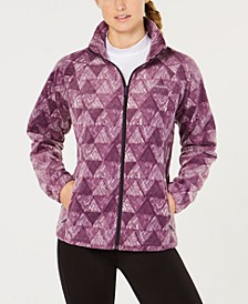 Benton Springs Printed Fleece Jacket