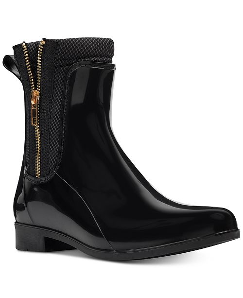 a8c0902999b Nine West Cooscoos Rain Boots   Reviews - Boots - Shoes - Macy s