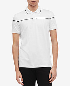 Calvin Klein Men's Slim-Fit Engineered Tipped Polo