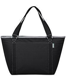 Picnic Time Topanga Black Cooler Tote Bag