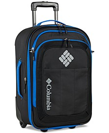 "Summit Point 20"" Carry-On Wheeled Suitcase"