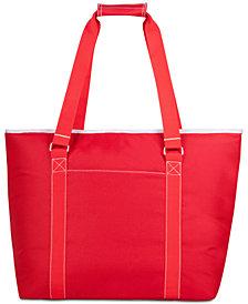 Picnic Time Tahoe Red XL Cooler Tote Bag