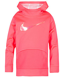 Nike Toddler Girls Therma-FIT Logo-Print Tunic Hoodie