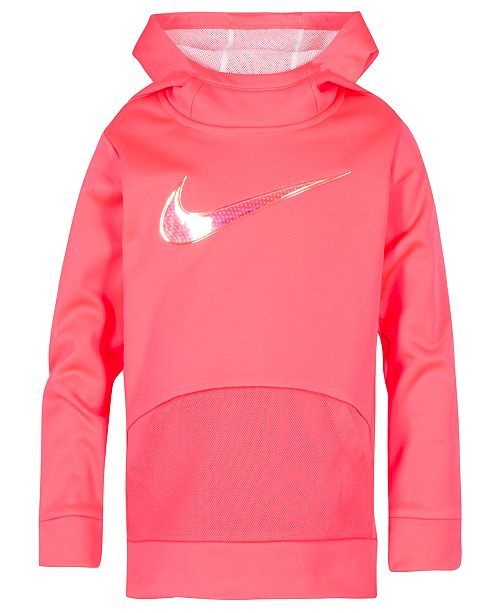 cdf4295973d9 Nike Toddler Girls Therma-FIT Logo-Print Tunic Hoodie   Reviews ...