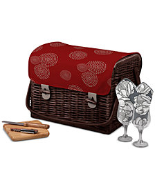 Picnic Time Kabrio Wine & Cheese Picnic Basket