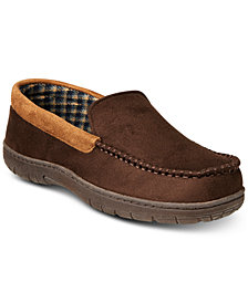 32 Degrees Men's Venetian Faux-Suede Slippers