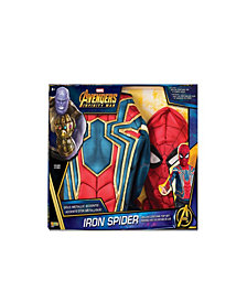 Deluxe Spider-Man Boys Costume Top Set