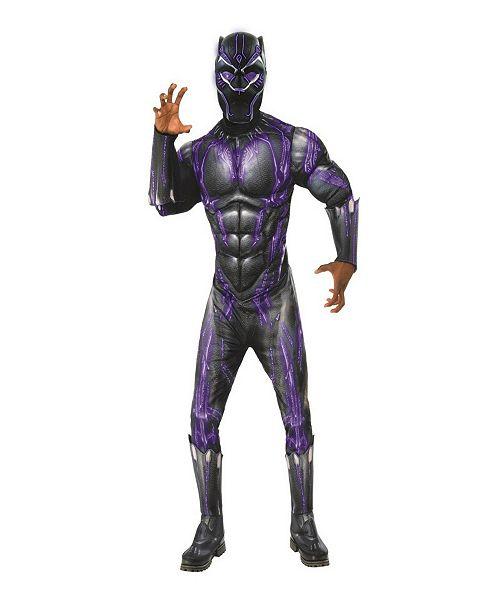 BuySeasons Big Boys Marvel Black Panther Movie Black Panther Kids Lightup Battle Kids Mask