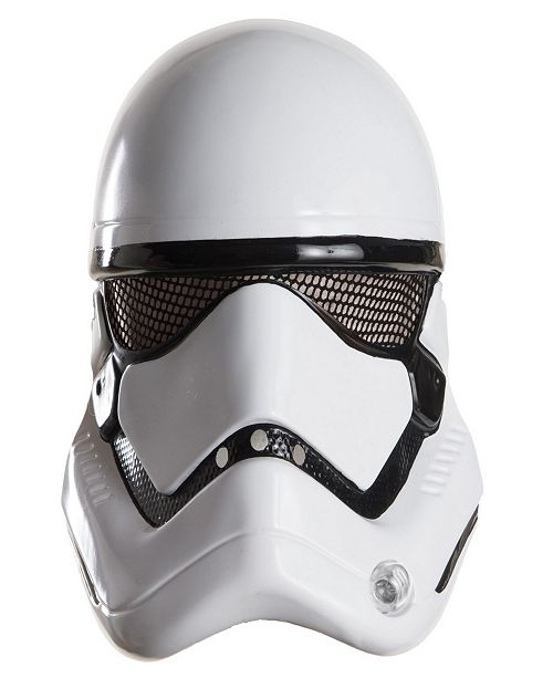 BuySeasons Star Wars Episode VII - Stormtrooper Little and Big Boys Half Helmet Accessory