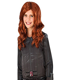 Marvels Captain America: Civil War Black Widow Girls Wig