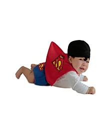 Superman Diaper Cover Set Baby Little and Big Boys Costume