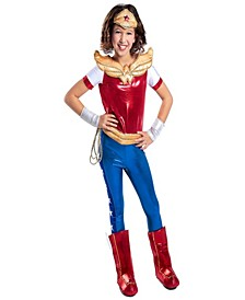 DC Superhero Wonder Woman Deluxe Little and Big Girls Costume