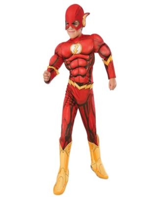The Flash Deluxe Kids Costume - L(10-12)