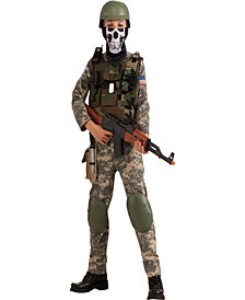 Camo Trooper Boys Costume
