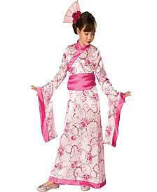 Asian Princess Girls Costume