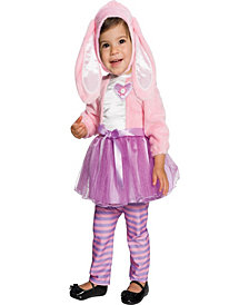 Baby Pink Bunny Toddler Girls Costume