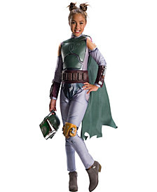 Star Wars Classic Boba Fett Girls Costume