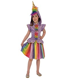 Unicorn Little and Big Girls Costume