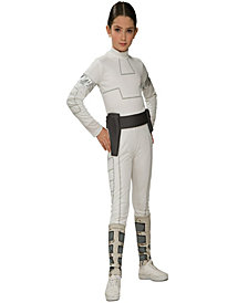 Star Wars Animated Padme Girls Costume