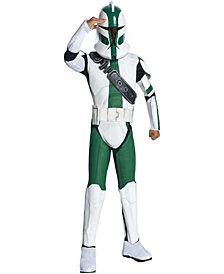Star Wars The Clone Wars - Clone Trooper Commander Gree Boys Costume