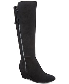 778be2cd2a4 Dr. Scholl s Poe Wide Calf Tall Boots   Reviews - Boots - Shoes - Macy s