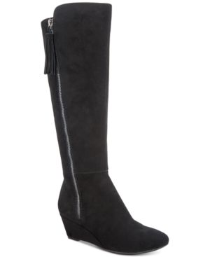 Image of Anne Klein Alanna Wide Calf Dress Boots