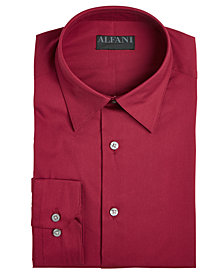 AlfaTech by Alfani Men's Solid Big & Tall Dress Shirt, Created For Macy's