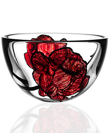 Kosta Boda Tattoo Small Glass Bowl
