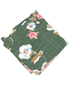 Bar III Men's Peiton Floral Pocket Square, Created for Macy's