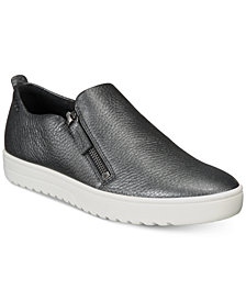 Ecco Women's Fara Zip Slip-On Sneakers