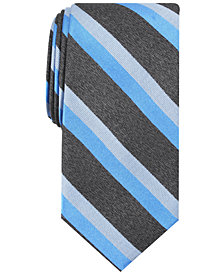 Nautica Men's Deneki Stripe Slim Silk Tie