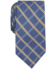 Nautica Men's Marion Grid Slim Silk Tie
