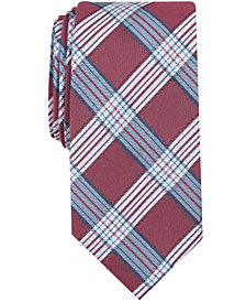 Nautica Men's Judson Plaid Slim Tie