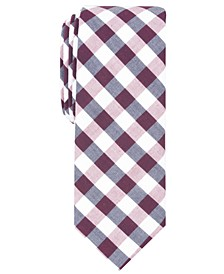 Penguin Men's Gagne Check Skinny Tie