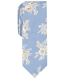 Penguin Men's Gallagher Floral Skinny Tie